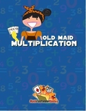 Old Maid Multiplication {Math Game}