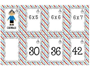 Old Maid Multiplication Set 2