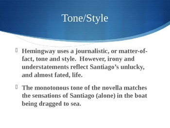 Old Man and the Sea Themes, Symbols, and Heroes PowerPoint