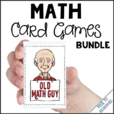 Math Review Games - Old Math Guy Card Games Bundle