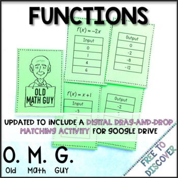 Linear Functions Card Game (Matching Input and Output)