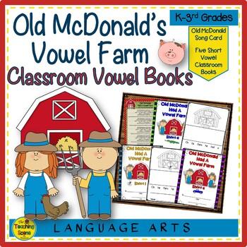 Old McDonald Had A Vowel Farm
