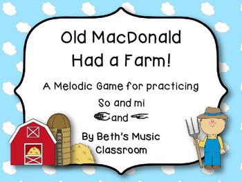Old McDonald Had a Farm - Interactive Melodic Game, So-Mi