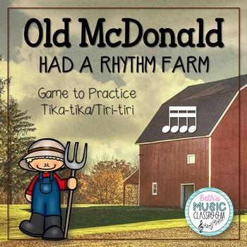 Old McDonald Had a Rhythm Farm - Interactive Game to Practice Tika-tika