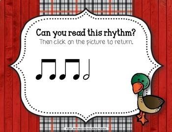 Old MacDonald Had a Rhythm Farm - Interactive Game to Practice Ta-a