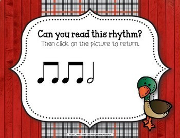 Old MacDonald Had a Rhythm Farm - Interactive Game to Practice Ta-a