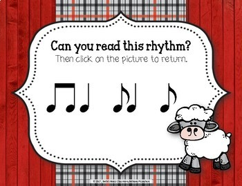 Old MacDonald Had a Rhythm Farm - Interactive Game to Practice Syncopa