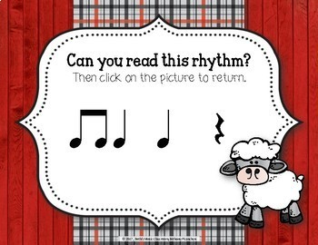 Old MacDonald Had a Rhythm Farm - Interactive Game to Practice Ta Rest