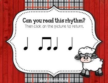 Old MacDonald Had a Rhythm Farm - Interactive Game to Practice Ta, Ti-ti