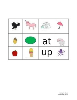 Old McDonald Vowel Sounds