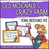 Old McDonald's CRAZY Farm!  Mix and Match Song with Real A
