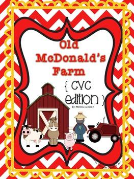 Old McDonald's Farm { CVC Edition } Phonics Game