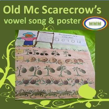 #backtoschool Old McScarecrow's Vowel Garden and Song