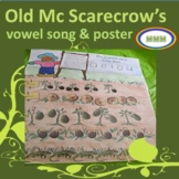 #backtoschool Old McScarecrow's Vowel Garden and Song