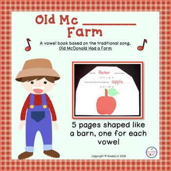 Old Mc Farm Vowel Song Book