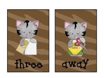 Old Meowd Sight Word Game: Treasure's Reading Series 1st Grade Words