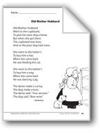 Old Mother Hubbard (A rhyme)