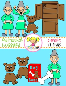 Old Mother Hubbard Clipart
