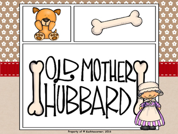 Old Mother Hubbard - Comic Strip Nursery Rhyme Story Telling - PDF EDITION