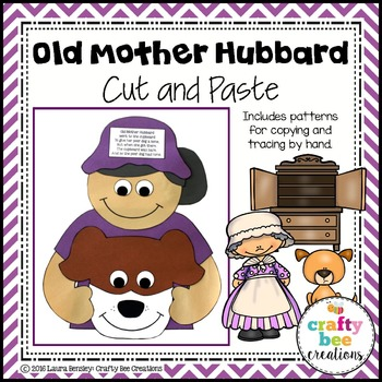 Old Mother Hubbard Cut and Paste