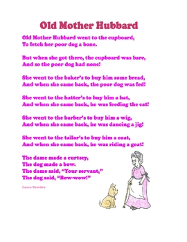 Old Mother Hubbard - Interactive Circle Time - Autism