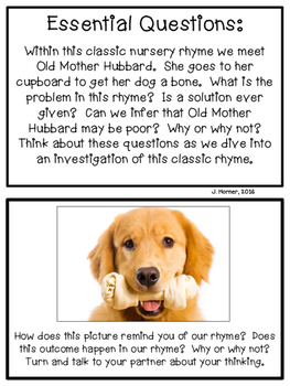 Old Mother Hubbard Investigation