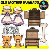 Old Mother Hubbard Nursery Rhyme Clip Art Bundle {Educlips Clipart}