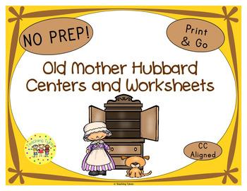 Old Mother Hubbard Activities