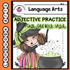 Halloween Adjectives with Old Mrs. Witch