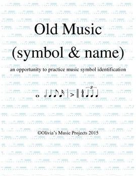 """""""Old Music"""" Game (Symbol & Name)"""
