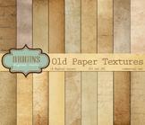 Old Paper Digital Scrapbook Vintage Antique Paper Grunge Textures