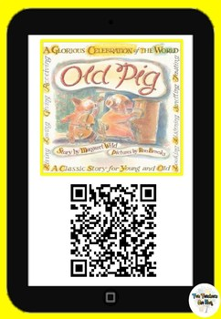 Old Pig- Qr Code Comprehension Pack