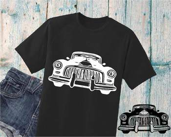 Old Police car SVG cars Father's Day police dad boy  904S