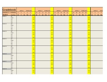old school gradebook template revised file coming soon by jerry