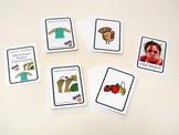 Old School Marm ASL - matching game  (food)