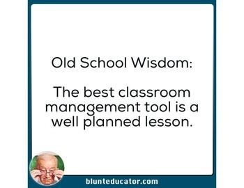 Old School Wisdom