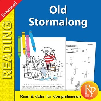 Old Stormalong: Read & Color - Enhanced