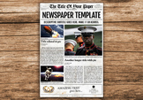 Old Style Newspaper Template for InDesign (10 Page Designs)