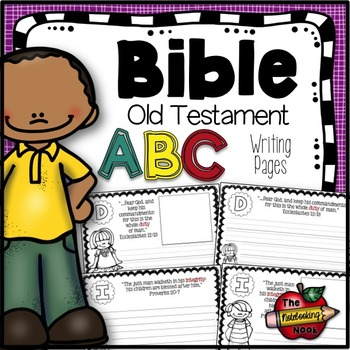 Old Testament Alphabet Notebooking Pages