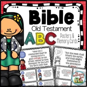 Old Testament Alphabet Wall Posters and Memory Cards