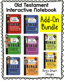 Old Testament Bible Notebook Add-On Lesson Bundle