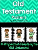 Old Testament Bible Posters