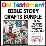 Old Testament Bible Story Crafts Bundle