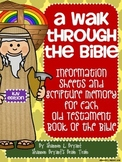 Old Testament Bible Verses, Background Info, and Student Response Sheets (KJV)