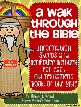 Old Testament Bible Verses and Background Info (ESV School License)