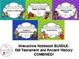Old Testament Bible and Ancient History Interactive Notebook Series HUGE BUNDLE!