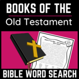 Old Testament Books of the Bible Word Search
