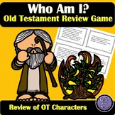 "Old Testament Character Review Game | ""Who Am I?"" Bible Game"