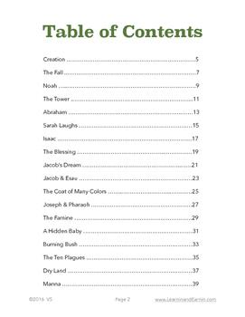 Old Testament Children's Bible Study