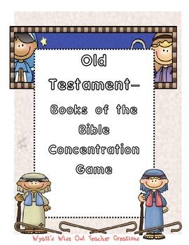 Old Testament Concentration Game